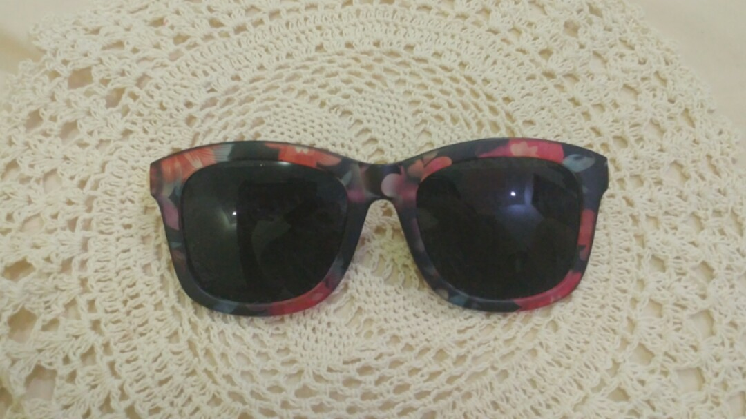 18190886b28 Korean sunglass kacamata flower