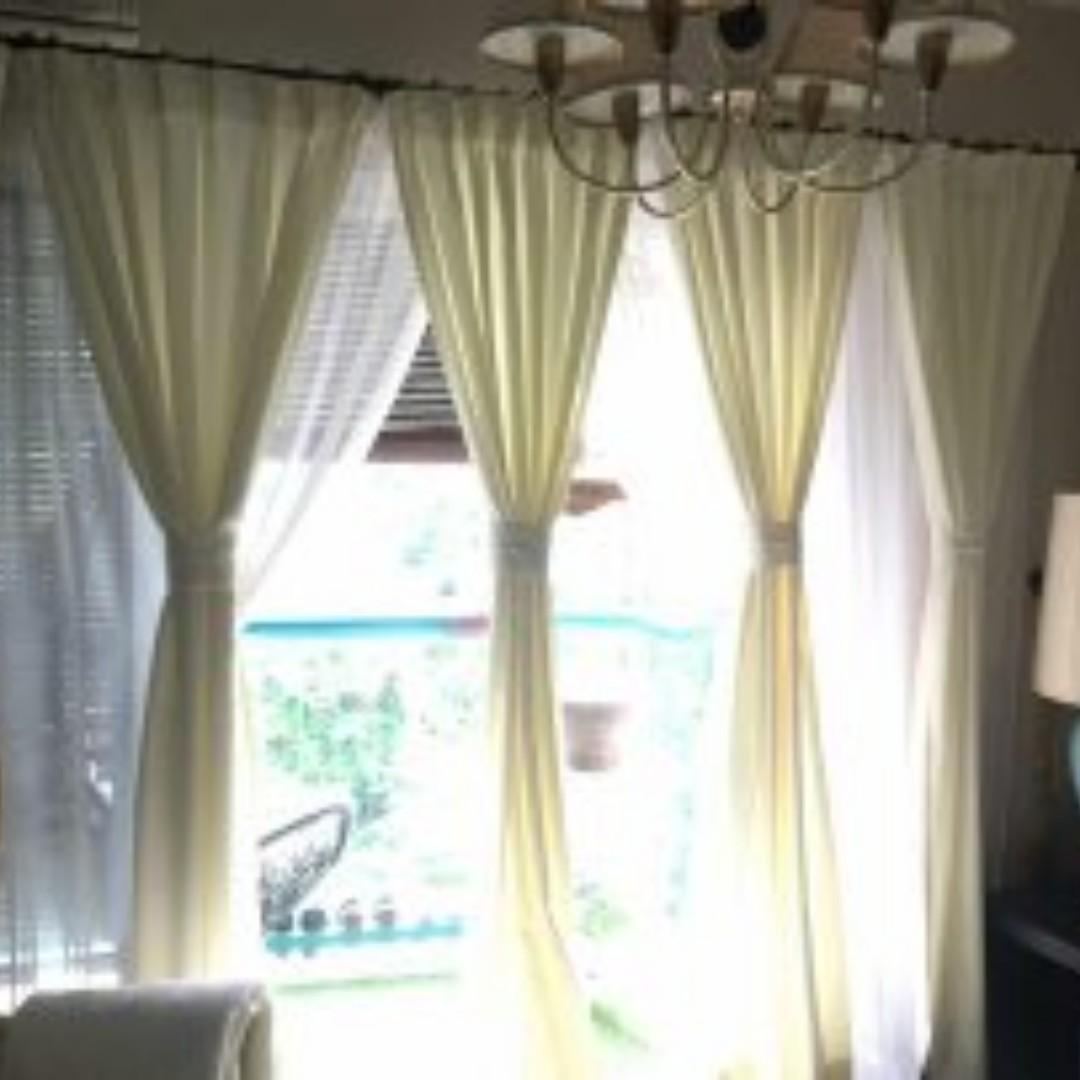 Langsir 8 5 Kakit Sliding Door Keping Price Reduced Home Furniture Décor On Carou