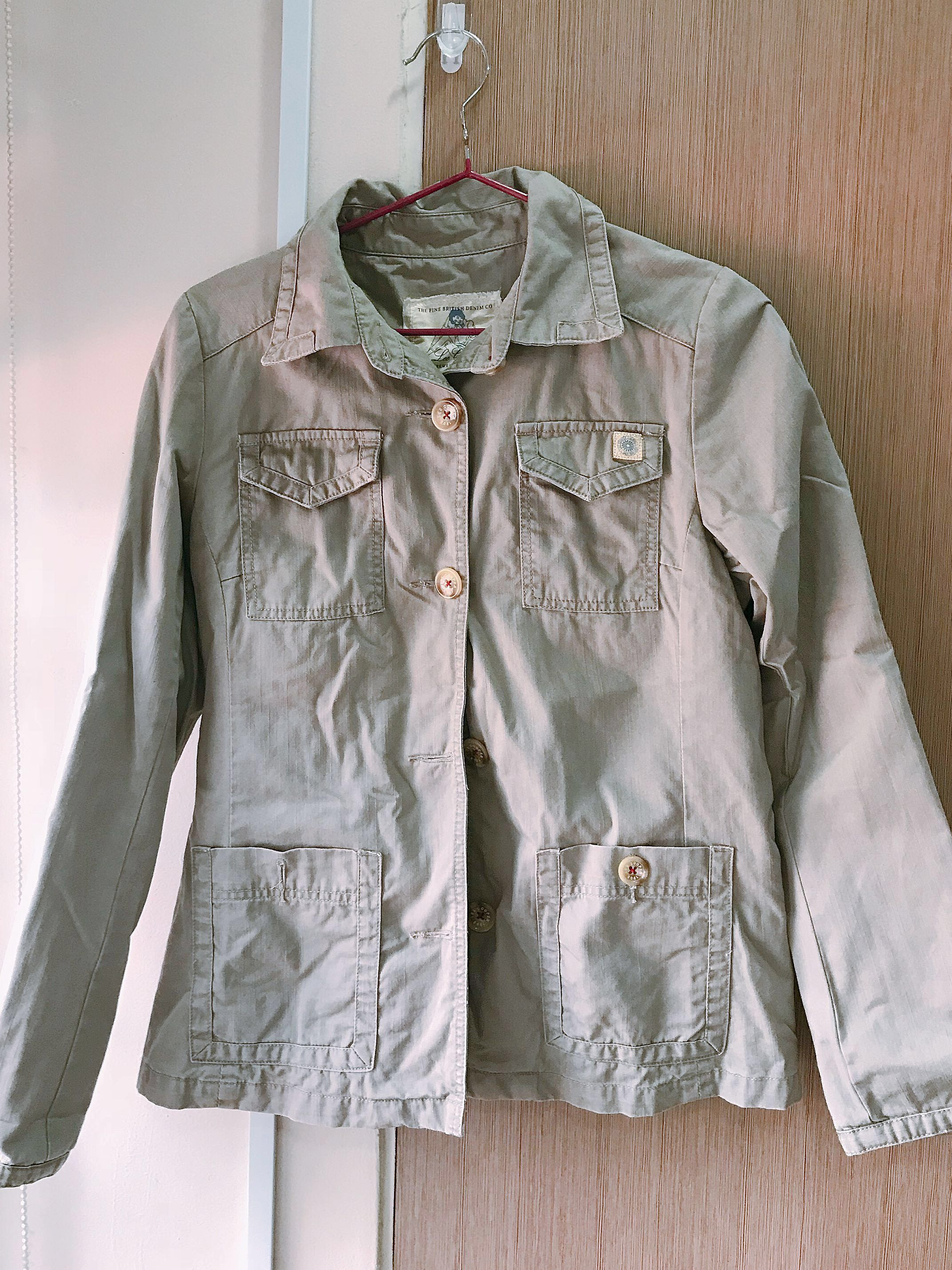 Lee cooper 100%cotton jacket trench like