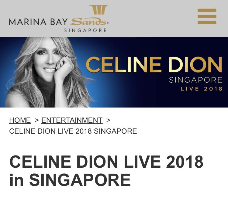 Lf 2xvvip Celine Dion For Any Of The Dates