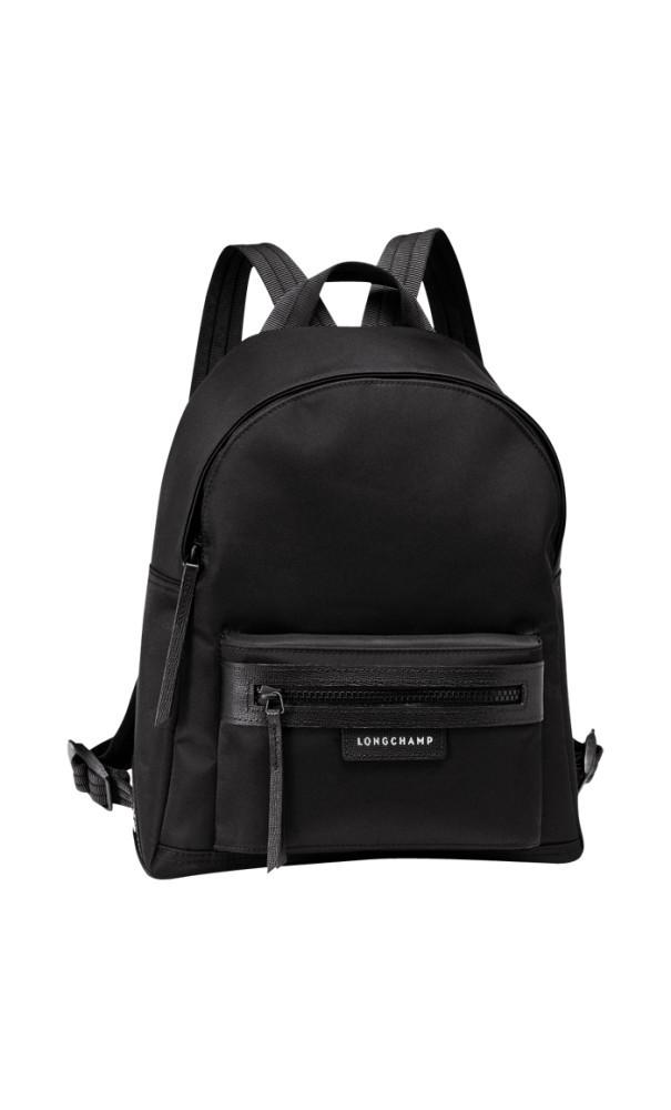 8de221ea21cd Longchamp Le Pliage Neo Backpack Medium in Black