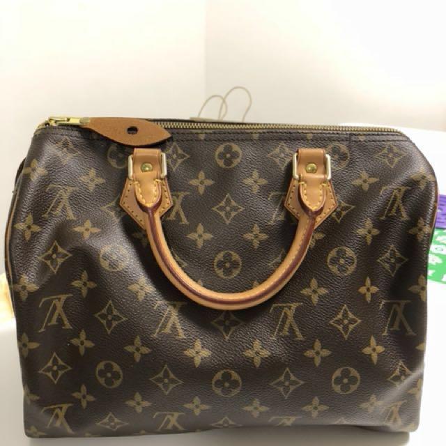 Louis Vuitton Speedy - Old design without shoulder strap, Luxury ... 812a06dac7