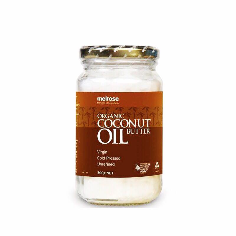 澳洲進口Melrose初榨冷壓椰子油孕婦食用護膚護髮卸妝