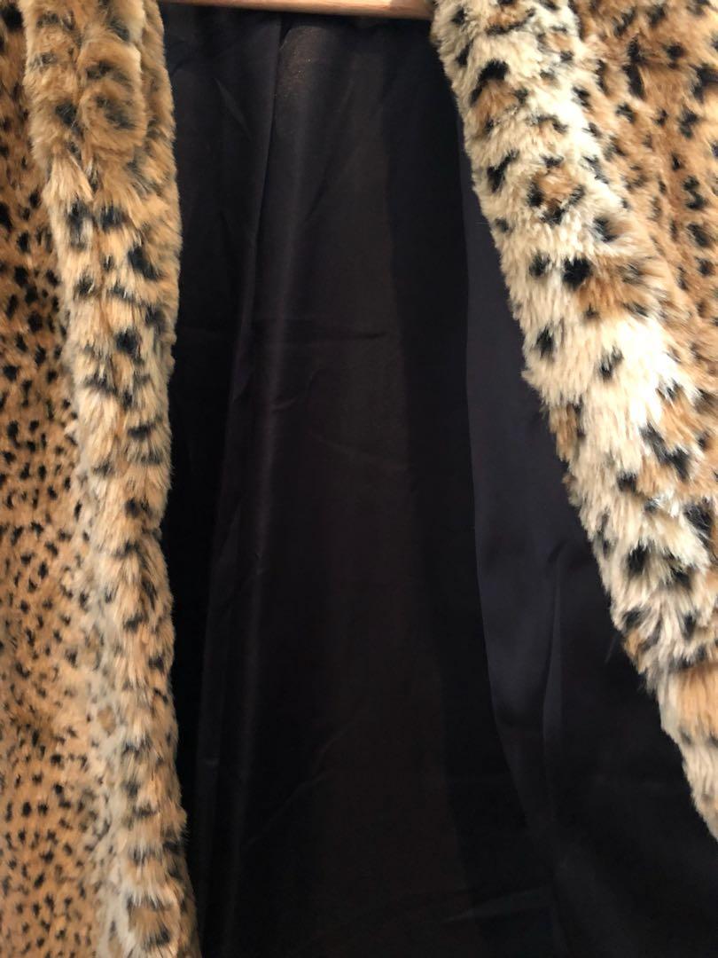 NEON HART Faux Fur Jacket