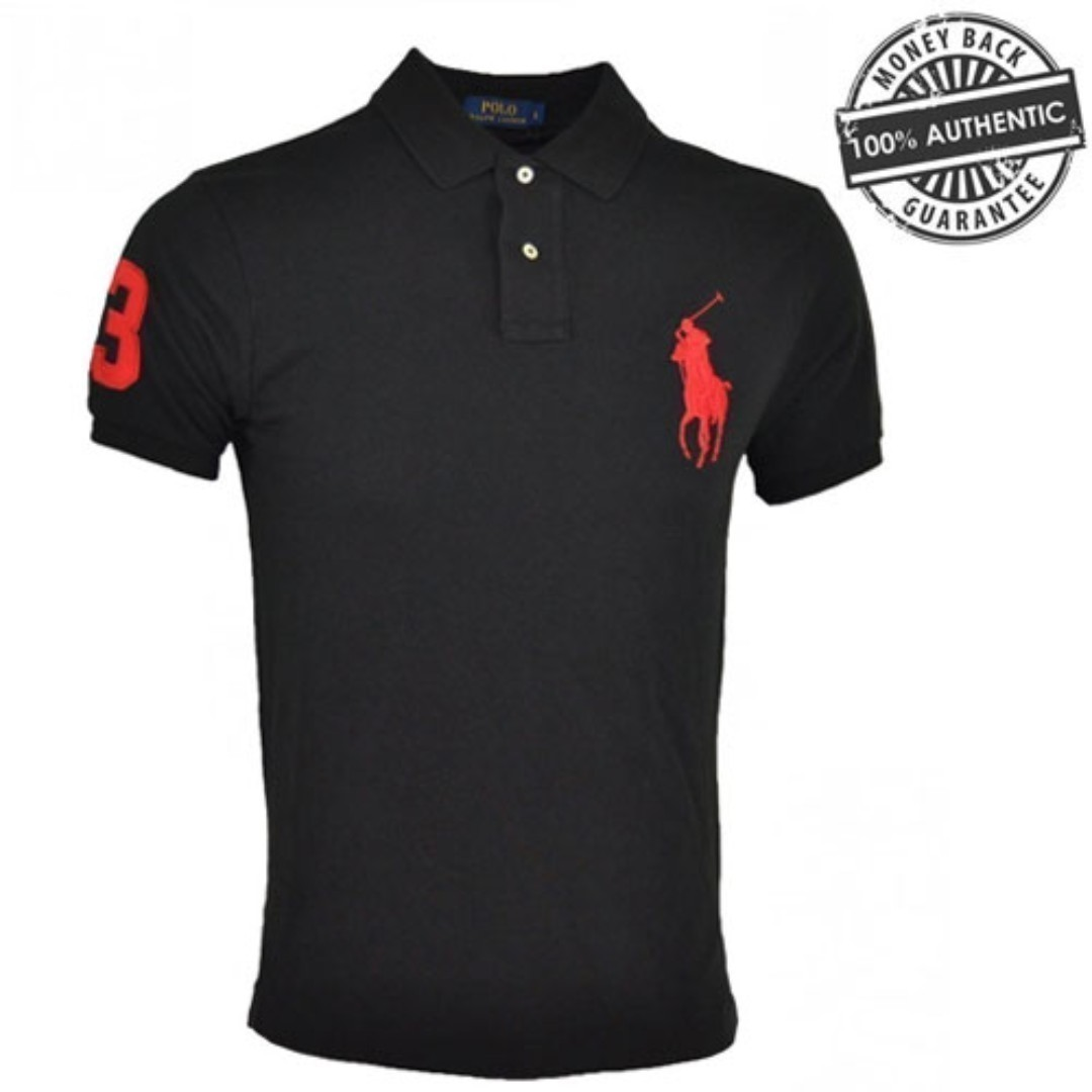 11b05d621 NEW Polo Ralph Lauren Men s Big Pony Custom Fit T Shirt Sizes M L ...