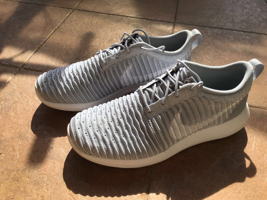 new concept c711e a1492 Nike Roshe Run Wolf Grey (Mens), Men s Fashion, Footwear on Carousell