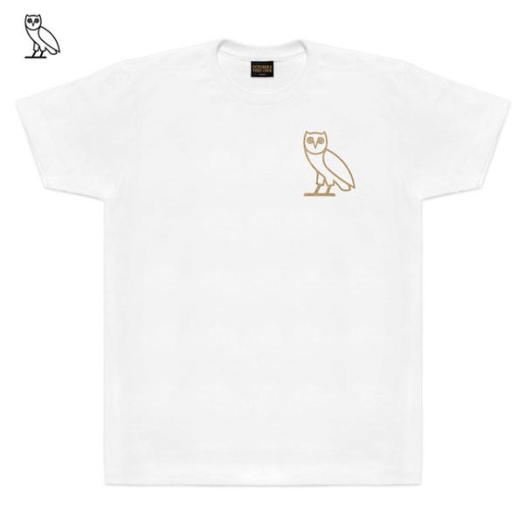 OVO October's Very Own Owl Left Chest Tee