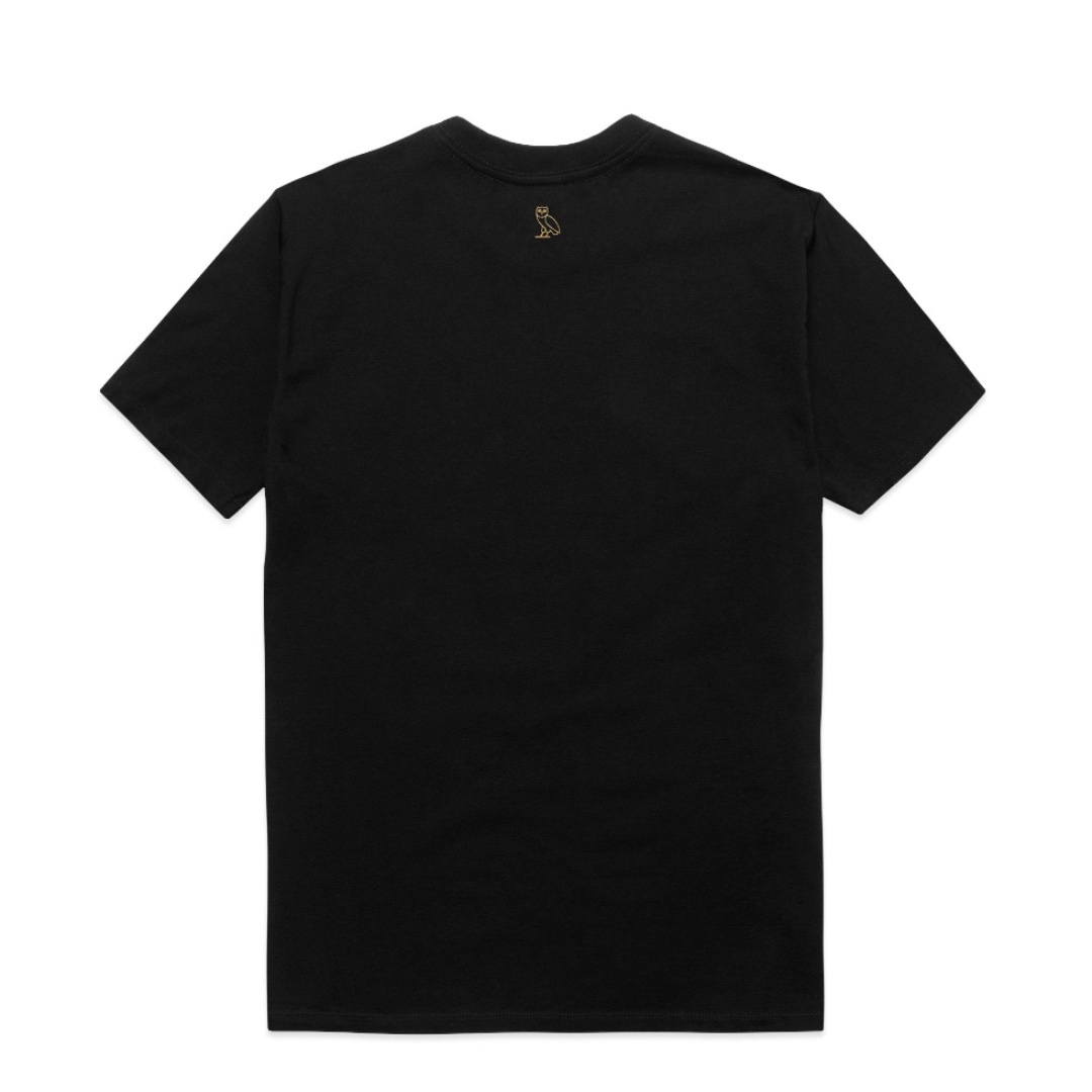 OVO October's Very Own Stacked Logo Tee (Black)