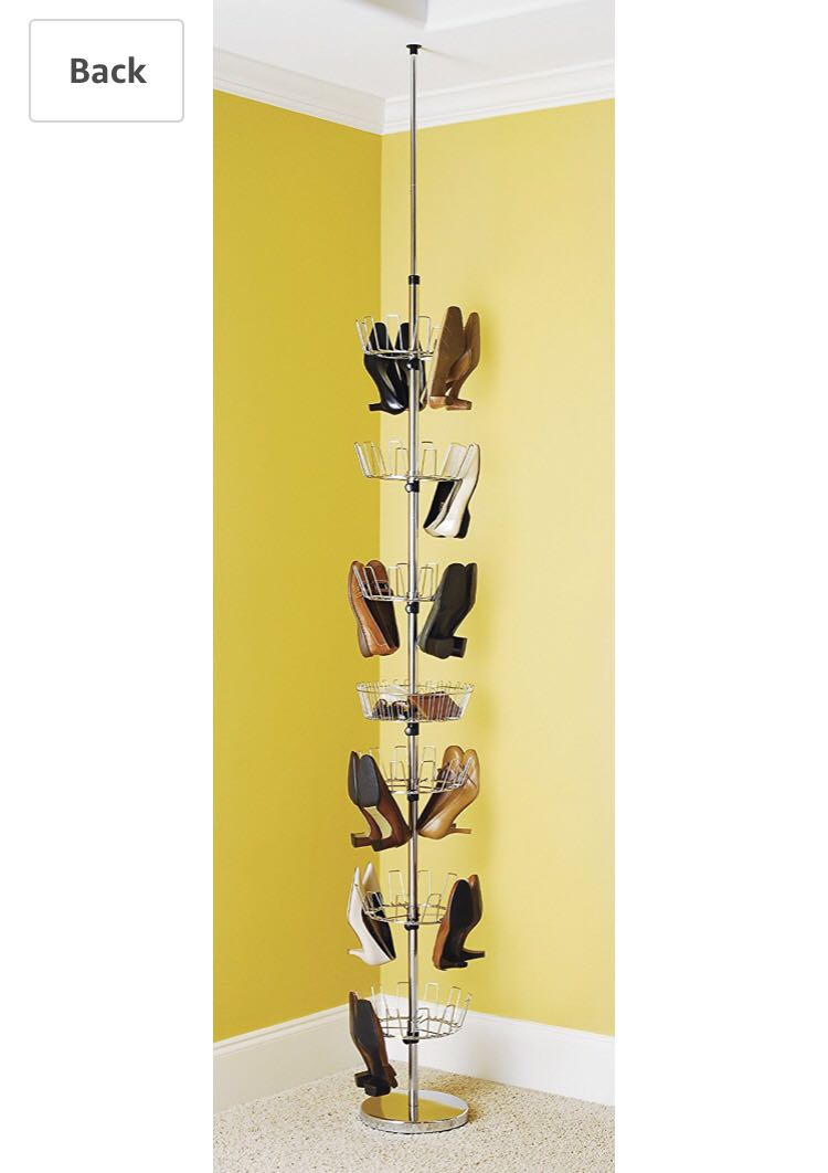 Rotating Shoe Rack From Floor To Ceiling Home Furniture On Carou