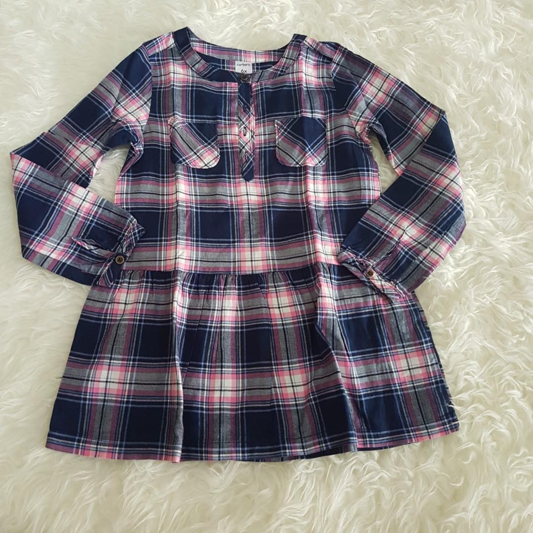 Semi Dress Carters Uk 6thn Babies Kids Girls Apparel On Carousell