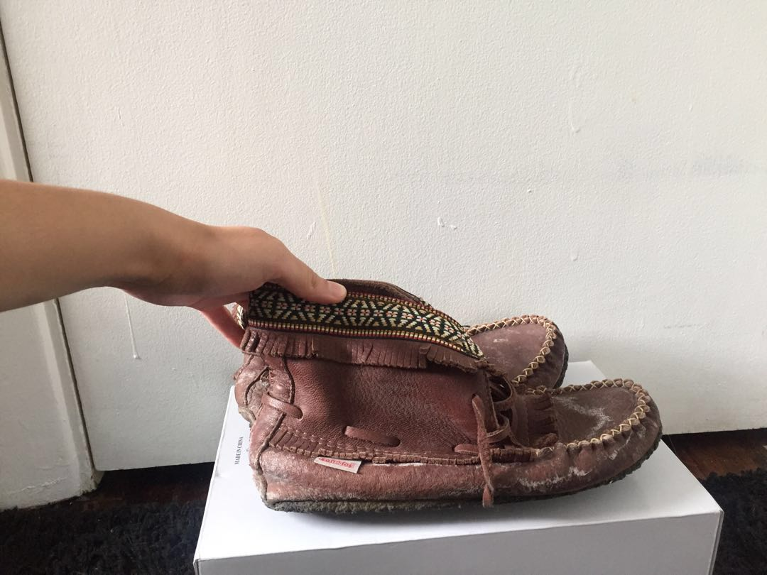 Softmocs Leather moccasins
