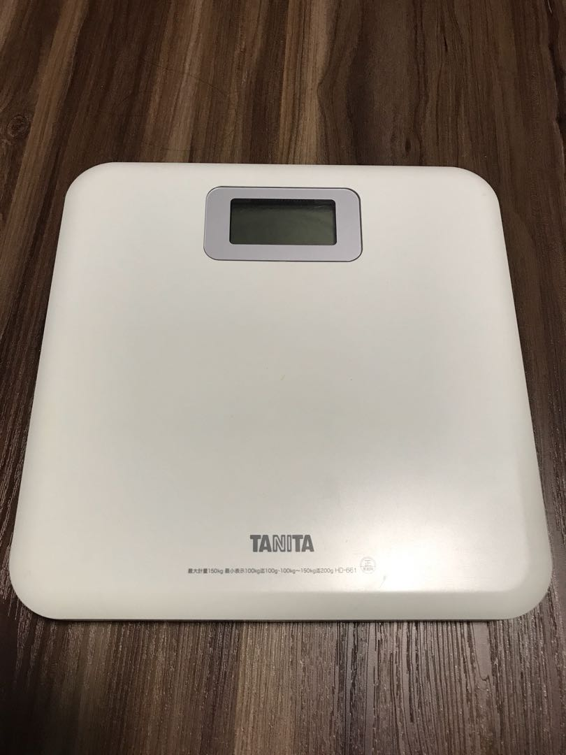 Fabulous Tanita Digital Bathroom Scale Health Beauty Bath Body Download Free Architecture Designs Scobabritishbridgeorg