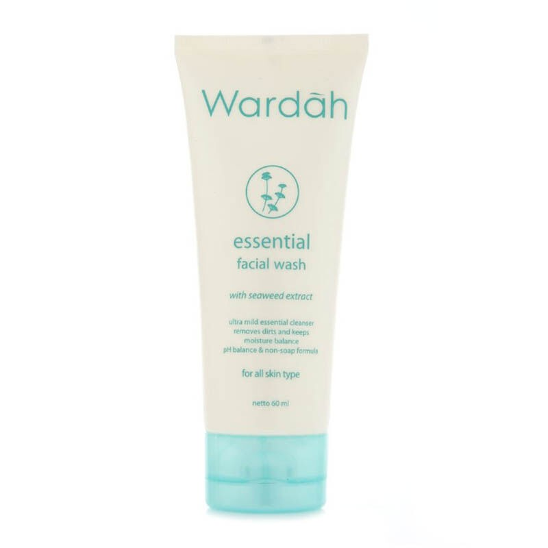 Wardah essential facial wash $3nett, Health & Beauty, Face & Skin Care on Carousell