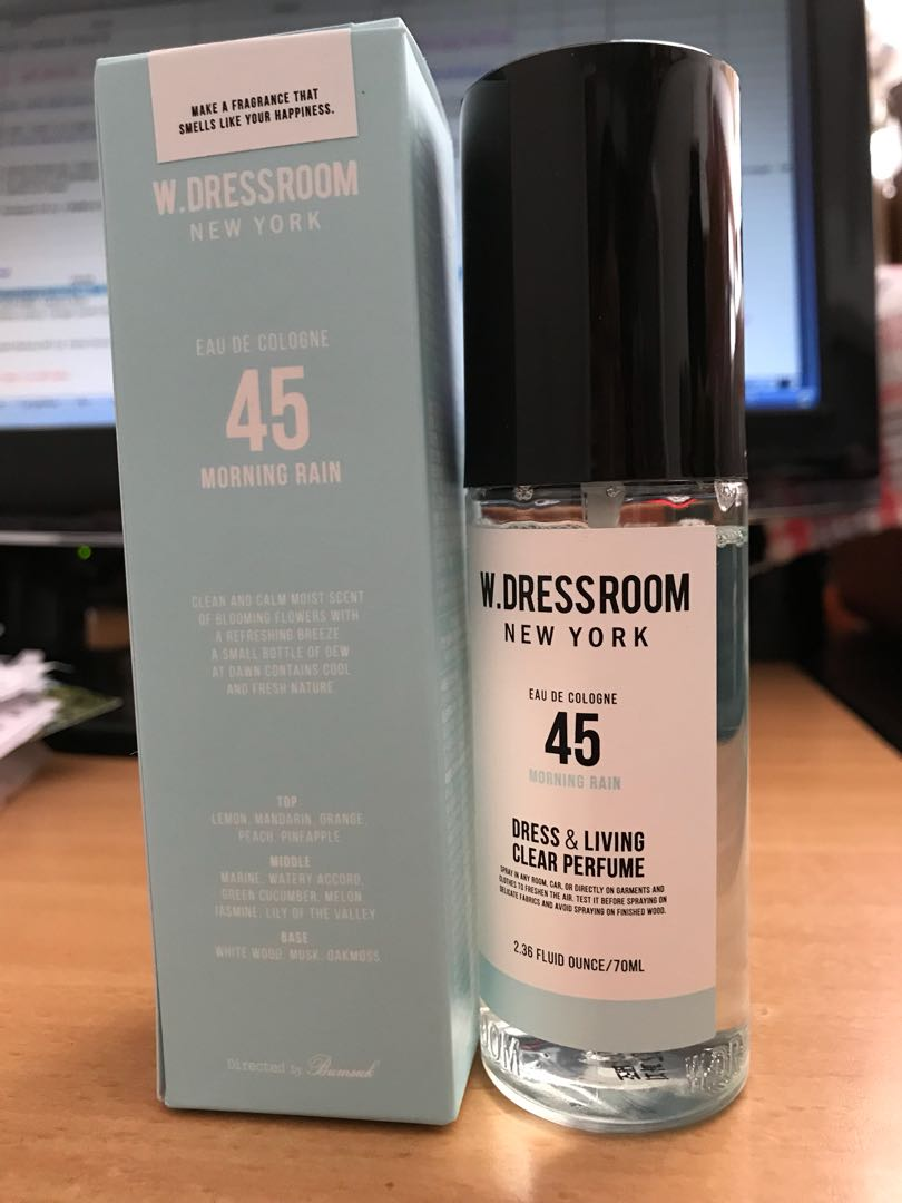 W.Dressroom New York Dress & Living Clear Perfume 70ml no. 45 morning rain, Health & Beauty, Perfumes, Nail Care, & Others on Carousell
