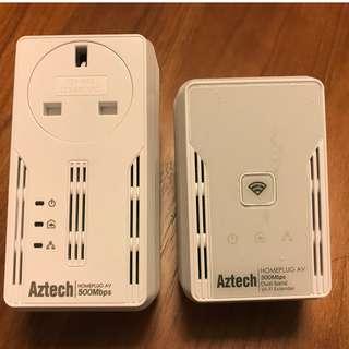 Aztech Homeplug 500Mpbs