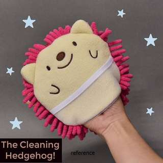 Japan Quality - Cleaning Hedgehog Kain Lap Cleaning Cloth