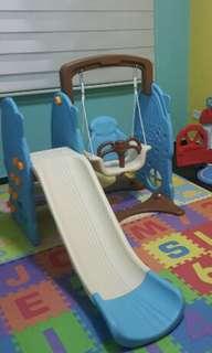 Swing slide children playground