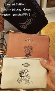 Limited Edition Coach × Minnie Mouse Purse
