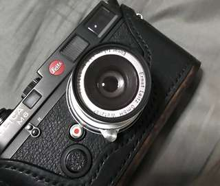 Leica Elmar 50mm f3.5 collapsable M-mount