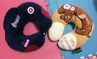 Neck pillows P100 each