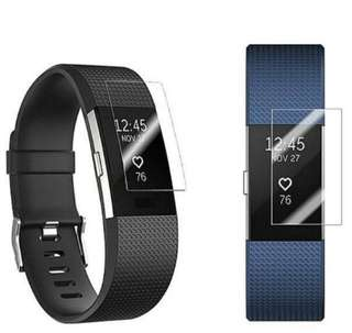 Fitbit Charge 2 Screen Protector Premium HD Clear 1 piece