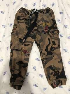 韓國兒童米奇褲