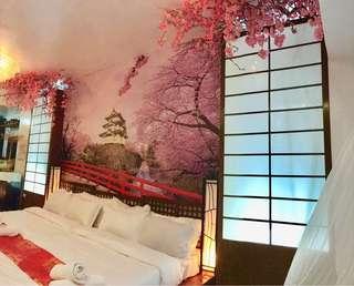 Sakura Inspired Tagaytay Condo For Rent
