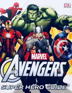 [NEW, SEALED] Marvel The Avengers Super Hero Guide Encyclopedia Book                                           #Avengers Infinity War #Infinity Gauntlet #Thanos