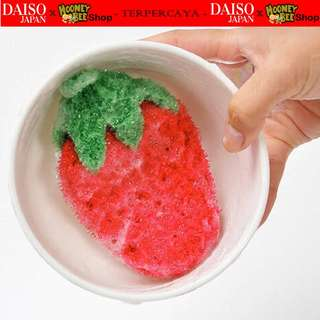 japan quality - knitted scrubber sponge pembersih cuci piring gelas