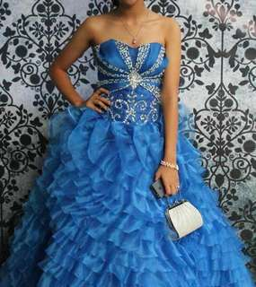 Long Gown Ball Gown Costume Dress
