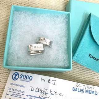 Tiffany&co ring x2 介指 x2
