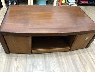 實木電視矮櫃106*65cm