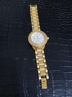Guess full stone watch