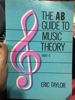 ABRSM The AB Guide to Music Theory Part 2 Eric Taylor