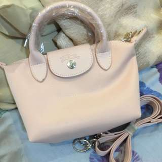 Longchamp mini baby pink