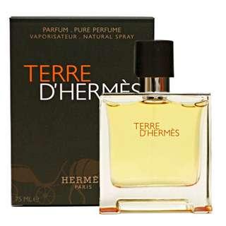 Hermes Terre D'Hermes Parfum for Men (75ml/Tester) Dhermes