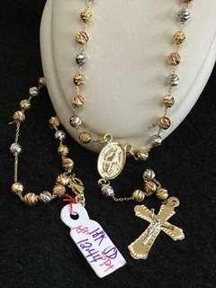 12.44g 18k Gold Rosary
