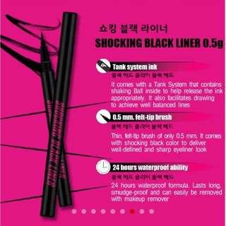 Cathy Doll Shocking Black Liner