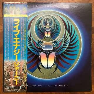 Journey Captured Live Album 2 x Vinyl Japan Press