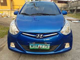 Hyundai Eon GLS 2014 Manual Blue Top of the Line