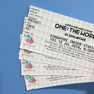 [WTS] (X4 CAT1) WANNA ONE : The World in SG
