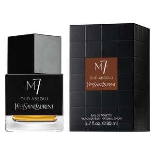 YSL La Collection M7 Oud Absolu EDT for Men (80ml) Yves Saint Laurent
