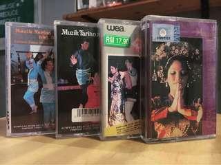 Muzik Tarian Malaysia Kaset Combo