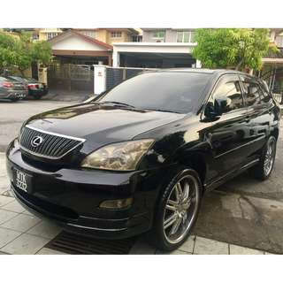 Toyota Harrier 2.4 (A) 1 owner Like New 22 inch RIMS