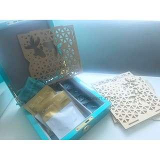 【Tiffany & Co】Mid Autumn 2017 Decoration Set (Goldfish candle light holder, Tea, Jewelry Box) 裝飾 擺設 蠟燭