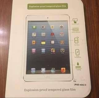 Ipad mini 1, 2 glass protector 玻璃貼 包郵