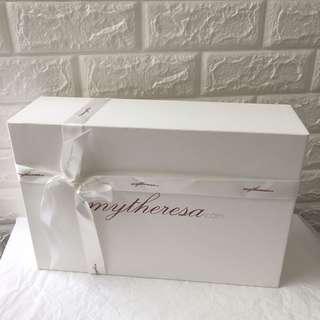 Mytheresa gift box礼品盒鞋盒纸盒