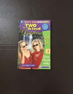 Two of a kind diaries - story book