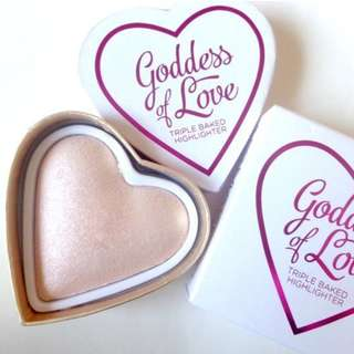 [PO] I Heart Revolution Blushing Hearts - Golden Goddess Preorder Po Spree