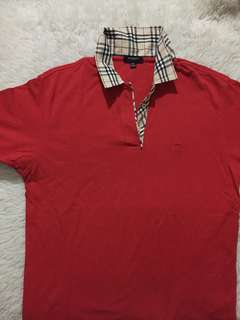 Authentic Burberry London Shirt with Nova check collar